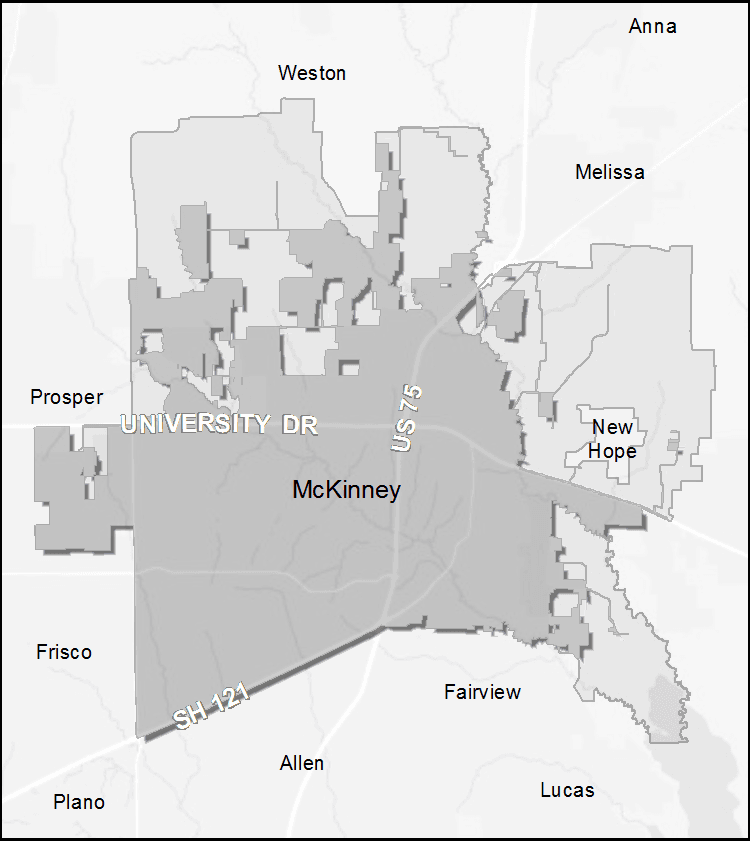 Where Is Mckinney Texas On The Map Annexations | McKinney, TX   Official Website
