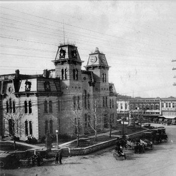 Courthouse circa 1910