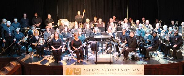 McKinney Community Band presents: Holiday Spirit Concert