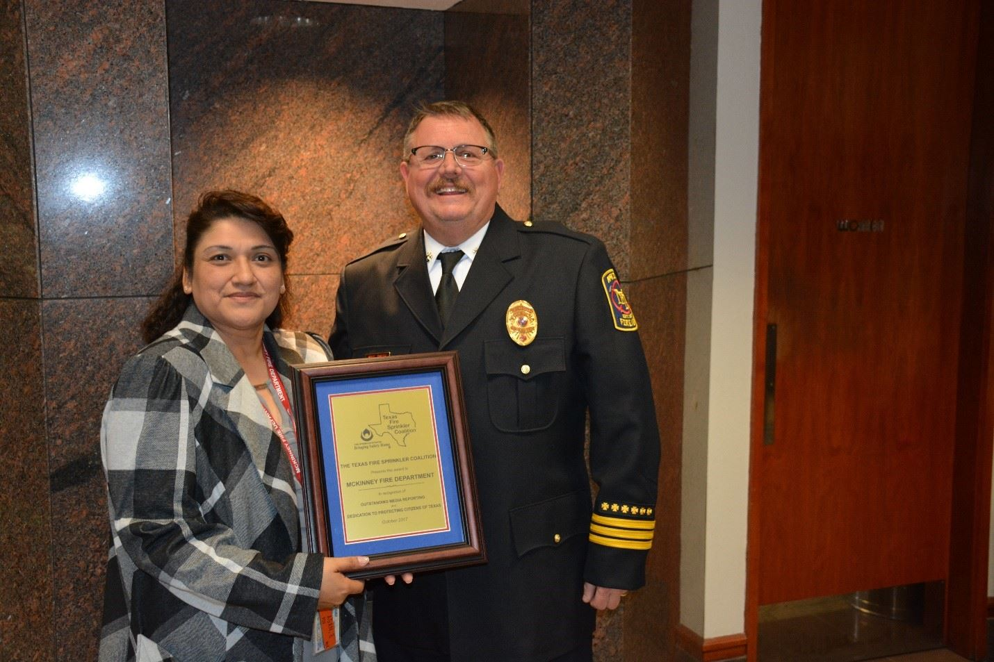 Texas Fire Sprinkler Award