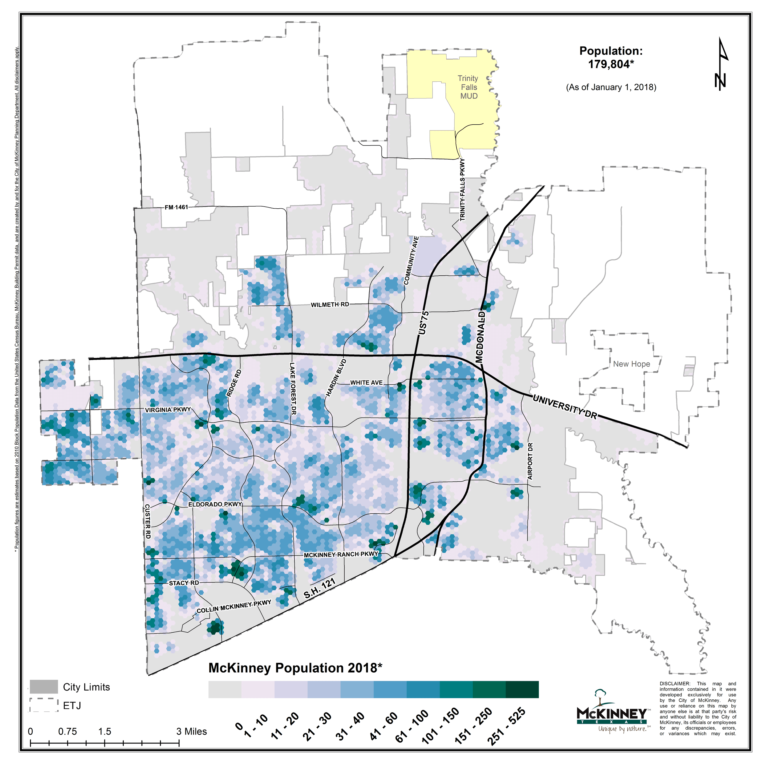 demographics census reports mckinney tx official website