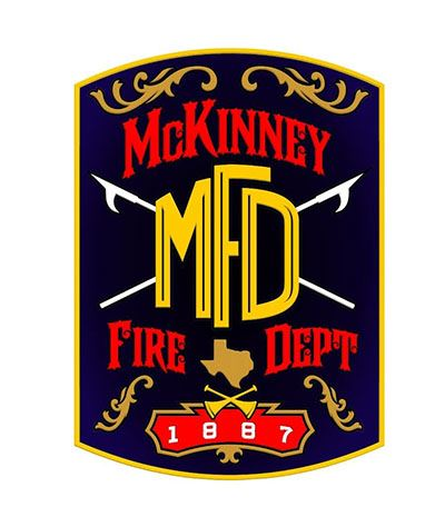 McKinney Fire Department patch 2018