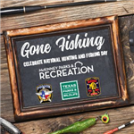 Gone Fishing - event with Police Department
