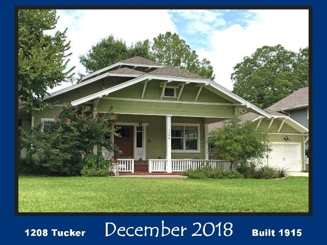 Historic Home Recognition - December 2018 - 1208 Tucker