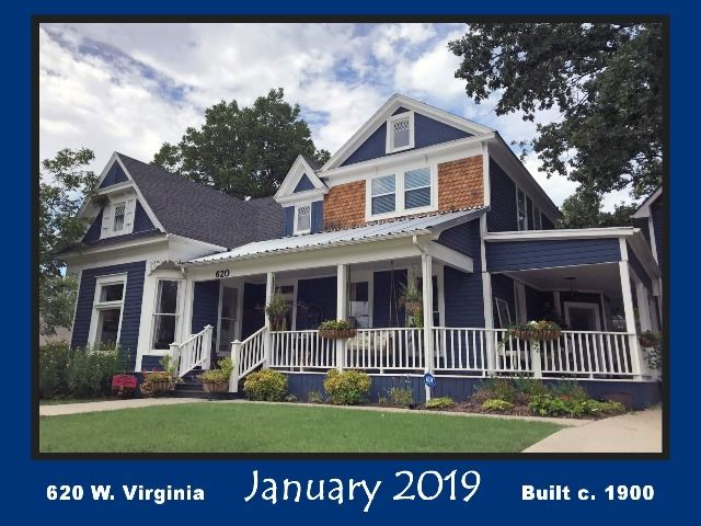 Historic Home Recognition - January 2019 - 620 W. Virginia St.