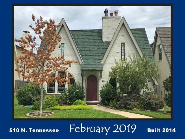 Historic Home Recognition - February 2019 - 510 N. Tennessee St.