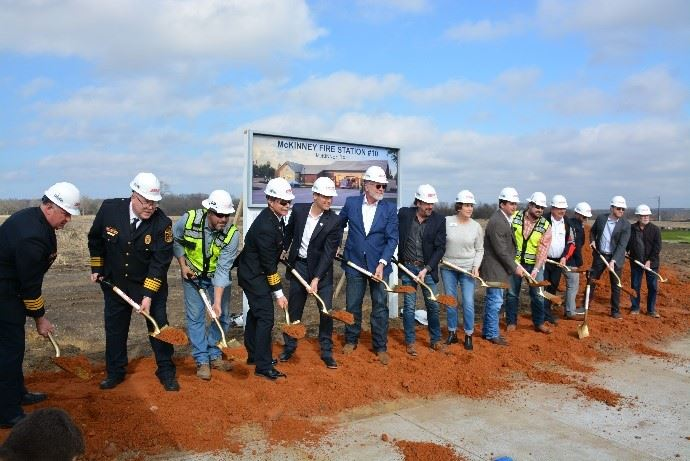 Fire Staiton 10 Groundbreaking
