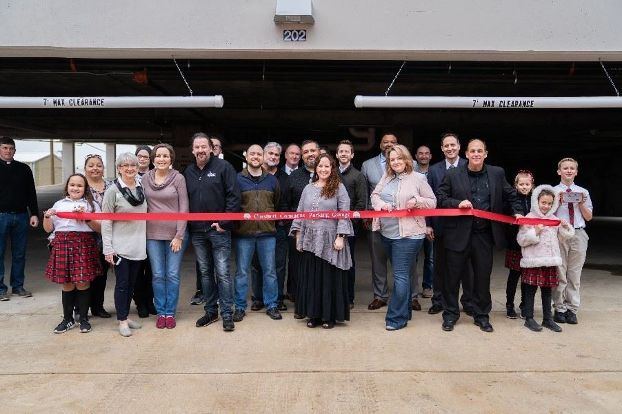 Downtown Parking Garage Ribbon Cutting