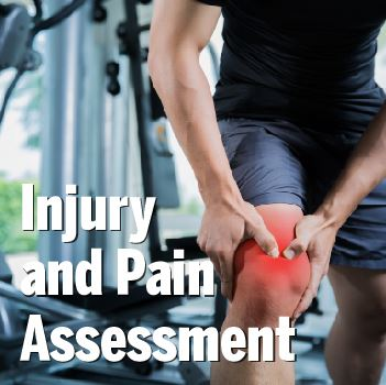 Injury and Pain Assessment Graphic