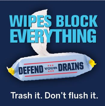 container of wipes