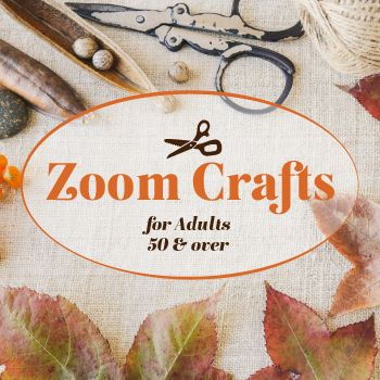 Zoom Crafts with the Senior Center