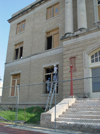 Remodeling of Courthouse