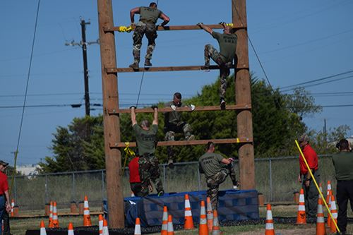 McKinney Police SWAT Team -  Obstacle Course