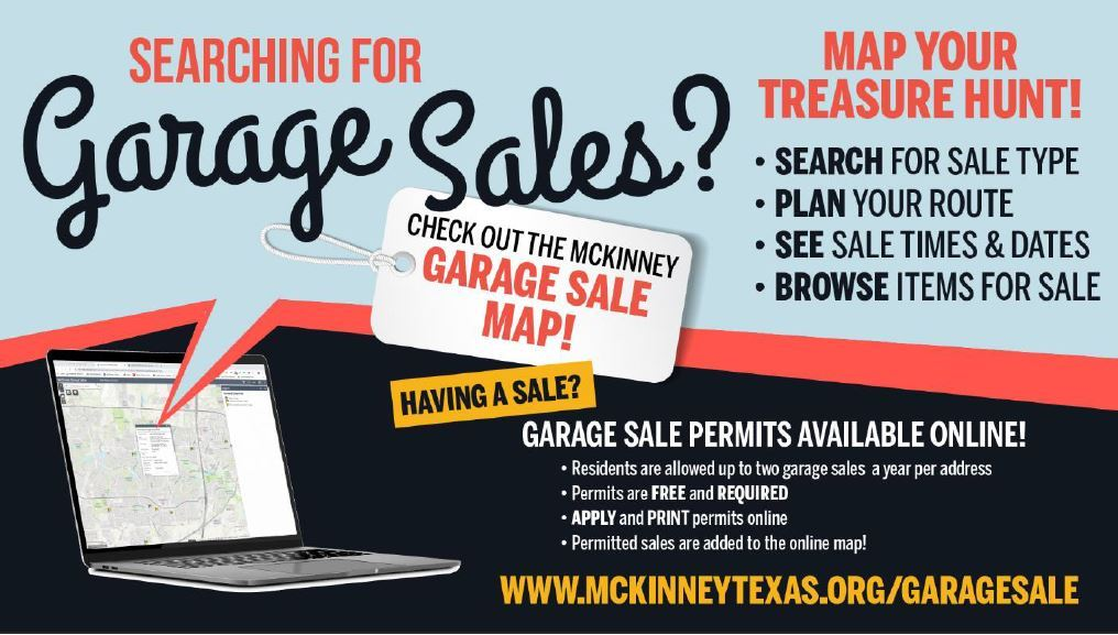 garage sale map flyer Opens in new window