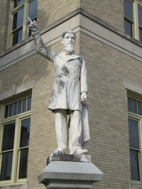 Statue of James W. Throckmorton