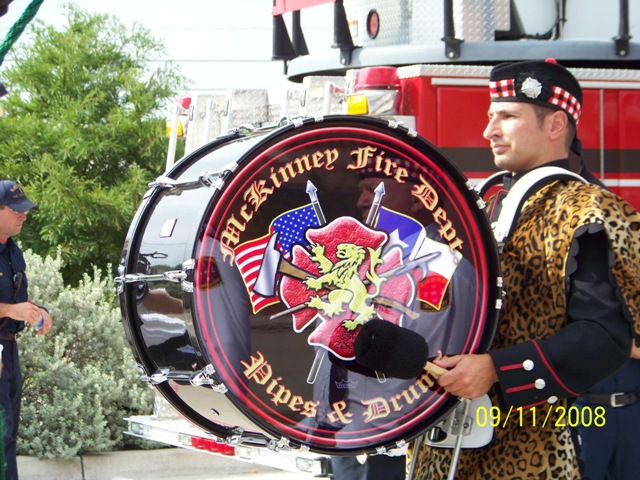 McKinney Fire Department Pipes and Drums