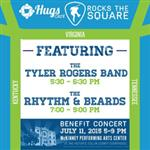 Hugs Cafe Rocks the Square!