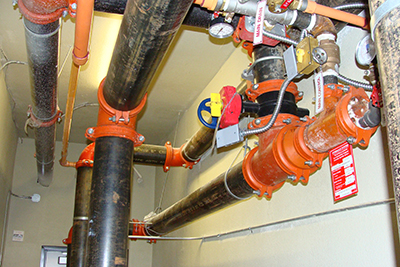 Frozen Pipes in Fire Protection Systems