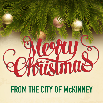 Merry Christmas from the City of McKinney