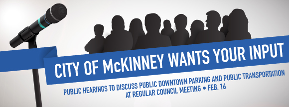 Public Input Meeting February 16