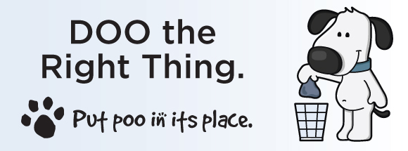 Doo the Right Thing. Put Poo In Its Place