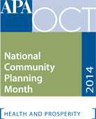 National Community Planning Month