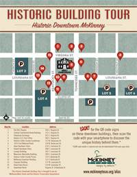 Historic Building Tour Map